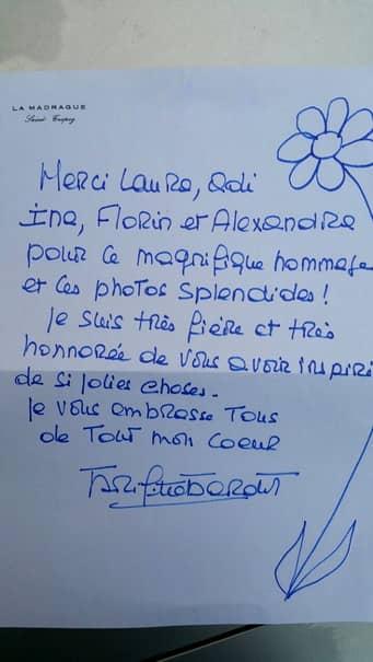 FOTO / Laura Cosoi a primit o scrisoare de la o femeie după ce i-a trimis fotografii provocatoare! Ce a făcut-o să-i scrie