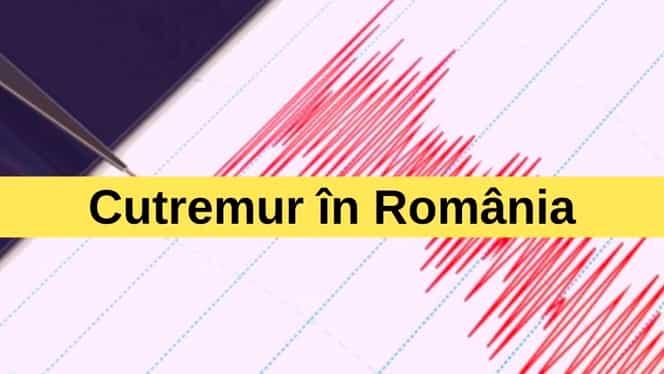 Cutremur în Vrancea, luni, 22 iulie. Ce magnitudine a avut seismul