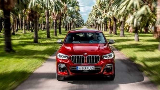 Avem primele fotografii cu noul model BMW X4! Dezvolta 360 de CP!