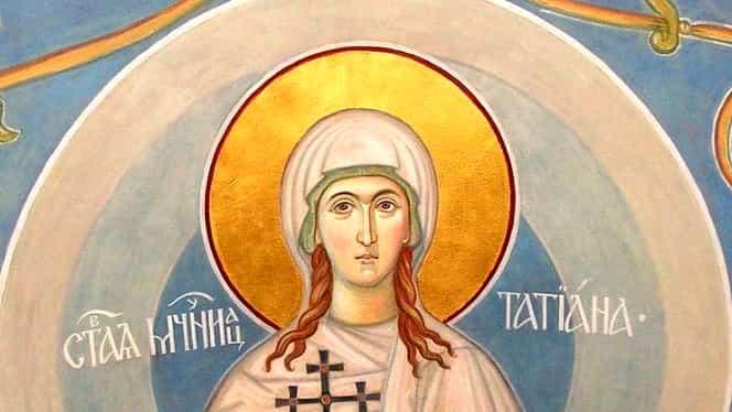 Calendar ortodox: duminică, 12 ianuarie 2020. Este cinstită Sfânta Muceniță Tatiana, diaconița