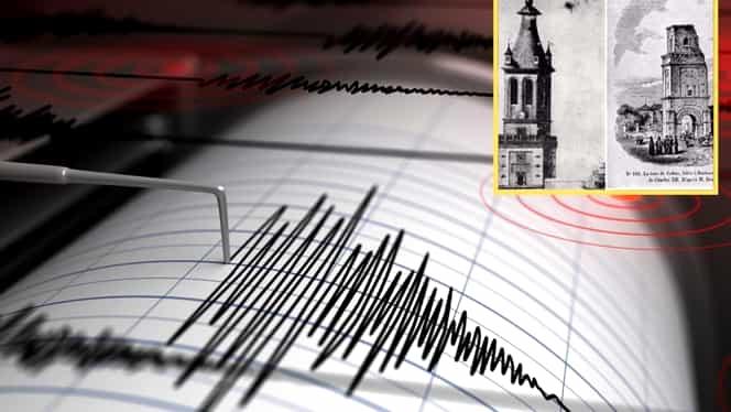 Cel mai puternic cutremur din istoria României. Magnitudinea acestuia, estimată în jurul valorii de 8 grade pe scara Richter