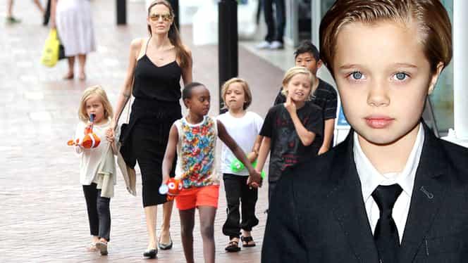 Cum arată fiica Angelinei Jolie, care s-a transformat în băiat