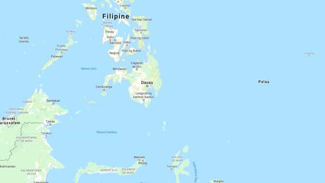 Cutremur de 5,2 grade în Filipine. Seismul s-a produs la o adâncime de 55 de kilometri