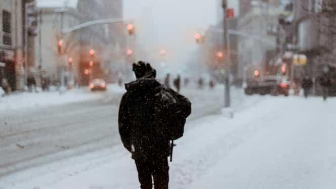 Alerta Meteo ANM: Cod portocaliu de ninsoare, în mai multe județe