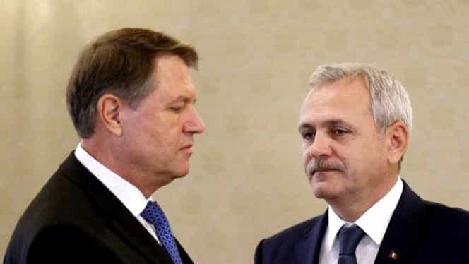 În PSD se vorbește despre suspendarea lui Iohannis! Ce spune Dragnea!