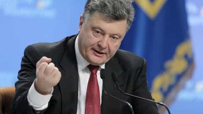 Criza Ucraina – Rusia: Poroșenko îl acuză pe Putin că vrea anexarea Ucrainei
