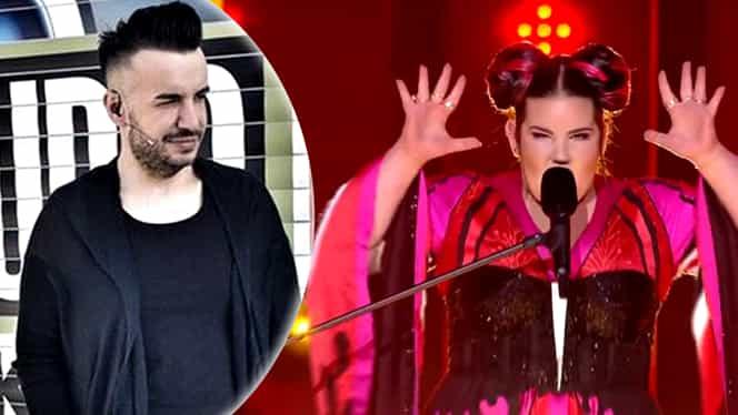 Răzvan Ciobanu, cuvinte grele la adresa câștigătoarei Eurovision 2018