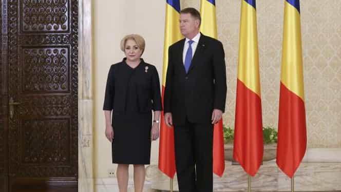 Viorica Dăncilă se consideră jignită de Klaus Iohannis! Expresia care a deranjat