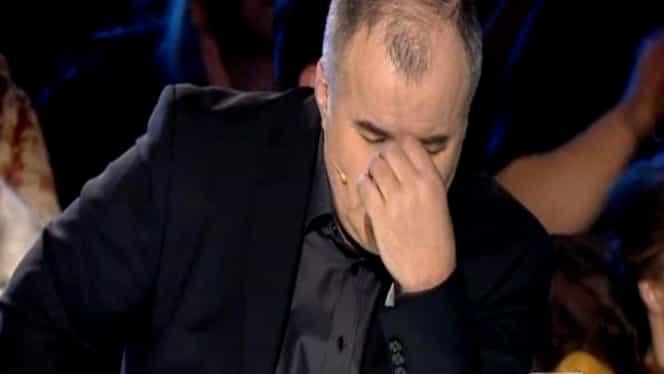 ROMÂNII AU TALENT/ Florin Călinescu în lacrimi! A început să plângă când a văzut ce au făcut pe scenă
