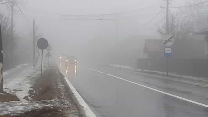 ANM a emis cod galben de ceaţă pentru 19 judeţe! Alerta e valabilă şi pentru Bucureşti