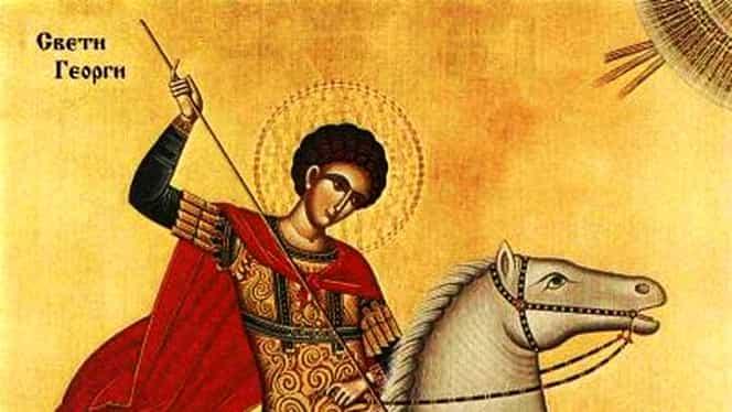 Rugăciunea Sfântului Gheorghe are cea mai mare putere dacă se rosteşte azi