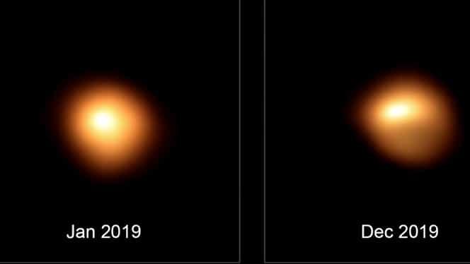 Steaua Betelgeuse, tot mai întunecată. Astronomii spune că se va transforma într-o Supernova. VIDEO
