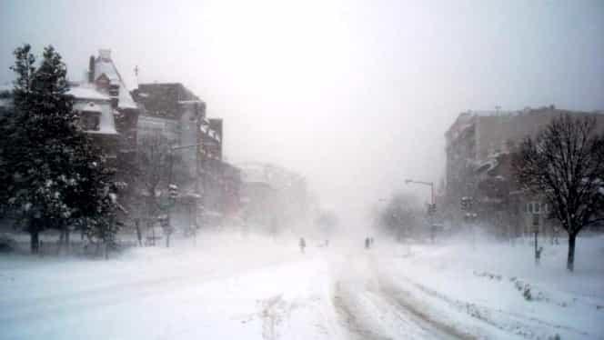 Ciclonul care aduce ninsorile în România, în aceste zile! Zăpada aste e diferită de prima
