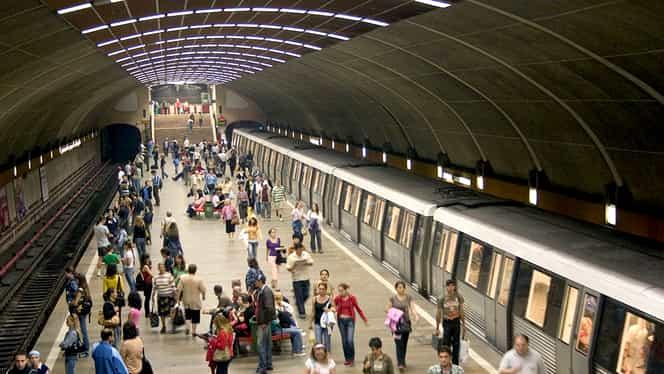 Guvernul dorește ca firmele din București să înceapă programul la ore diferite, pentru a se evita aglomerațiile de la metrou