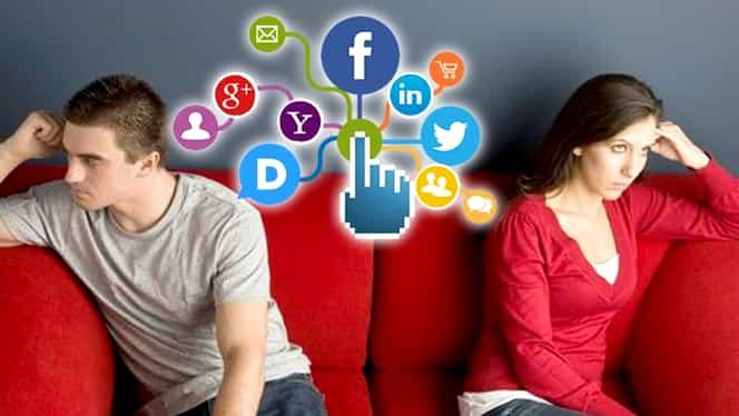 Reţelele sociale, cauză pentru tot mai multe divorţuri