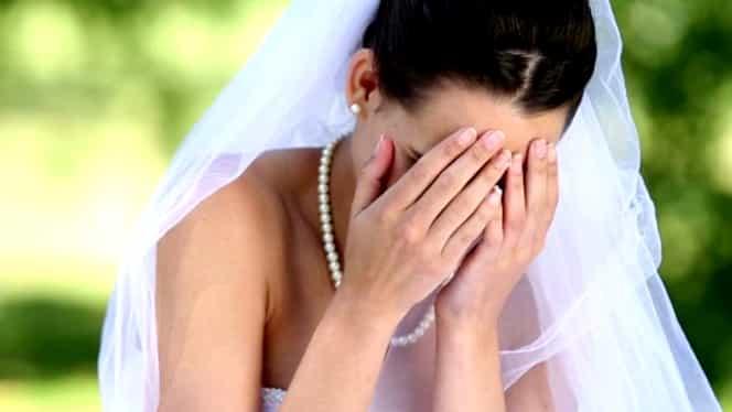 Mireasă infidelă făcută de râs chiar de soțul ei, în noaptea nunții. Imagini interzise minorilor, văzute de toți invitații