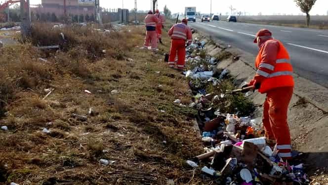 Guvernul propune o amendă drastică pentru cei care aruncă gunoiul din mașină!