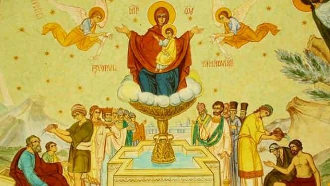 Cea mai puternică rugăciune către Maica Domnului pe care să o rostești de Izvorul Tămăduirii