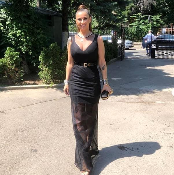 Anamaria Prodan sexy botez