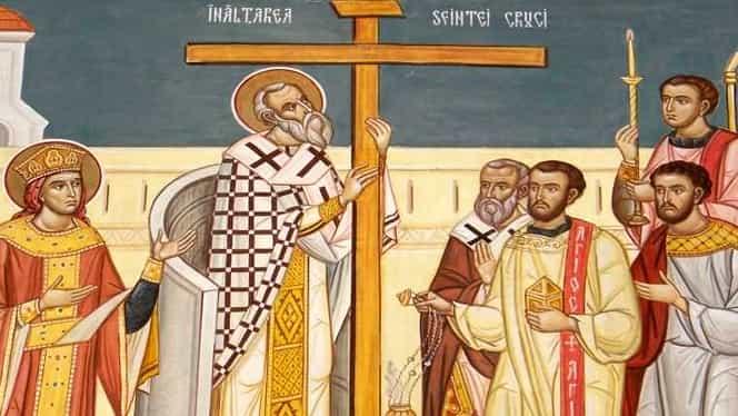 Tradiții și obiceiuri de Înălțarea Sfintei Cruci. Nu se mănâncă usturoi