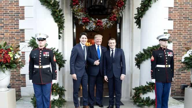 """Donald Trump s-a supărat pe premierul Canadei, Justin Trudeau, și pleacă mai devreme de la summit-ul NATO: """"Are două fețe!"""". Video"""