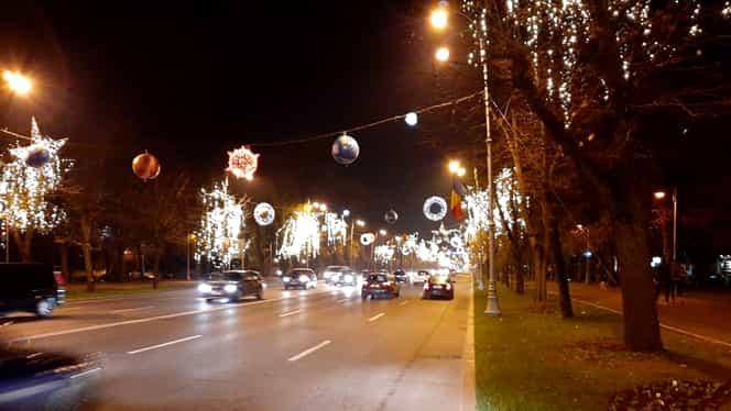 Luminițele de Crăciun din București au costat peste 50 de milioane de lei!