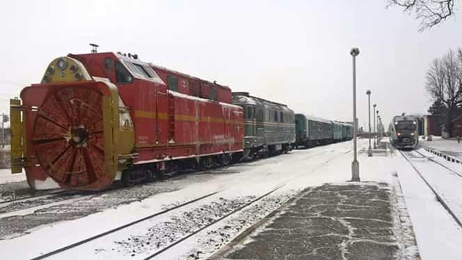 Peste 100 de pasageri, blocați în tren, în Timișoara, în Ajunul Crăciunului