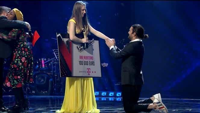 Câştigătorul trofeului Vocea României vine din echipa lui Smiley! A plecat acasă cu 100 de mii de euro!