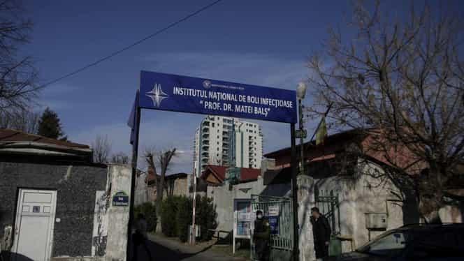 Un suspect de infectare cu coronavirus a fugit de la Spitalul Matei Balș. Poliția este pe urmele fugarilor