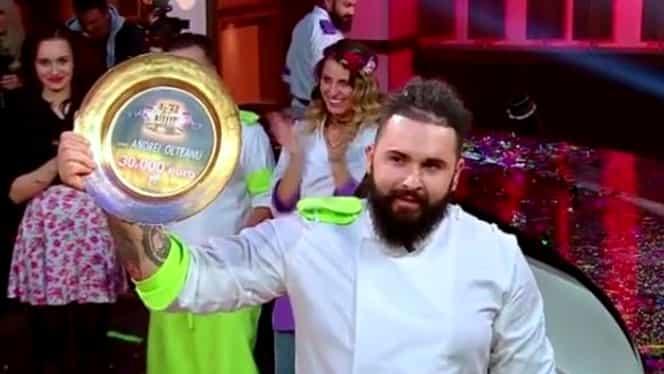 Câştigătorul Chefi la Cuţite 2017 este Cristian Andrei Olteanu! Ce a gătit!