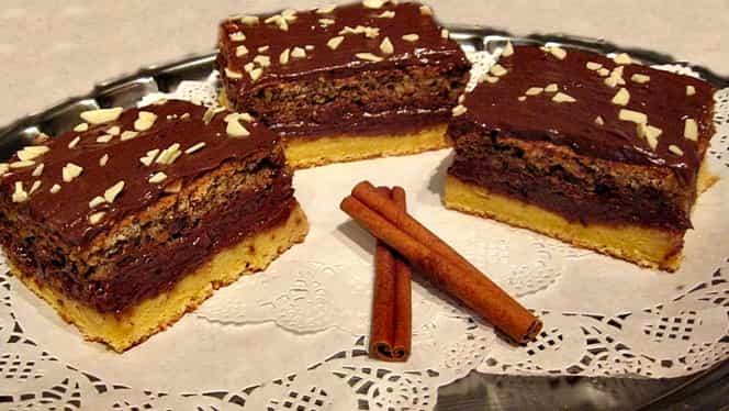 Prăjitura Regina Maria, un deliciu pentru pitici si bunici!