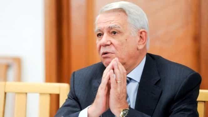 Funcția lui Teodor Meleşcanu, în pericol! CCR dezbate alegerea sa în fruntea Senatului