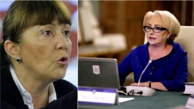 Monica Macovei, reacție acidă după declarația controversată făcută de premierul Viorica Dăncilă