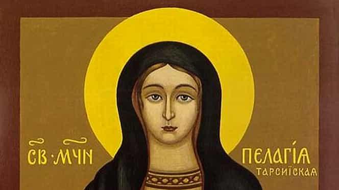 Calendar ortodox, 8 octombrie: pomenirea preacuvioasei Pelaghia