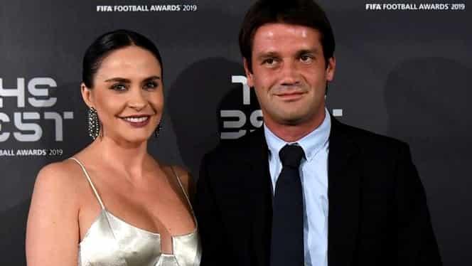Adelina şi Cristi Chivu, printre cele mai frumoase cupluri de la Gala FIFA. Galerie FOTO
