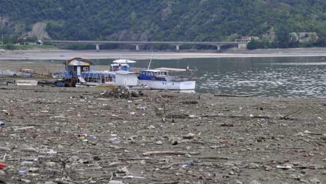 """Situaţia de pe Dunăre îngrijorează navigatorii. """"Acest fenomen ciudat nu a mai fost întâlnit de 10 ani"""""""