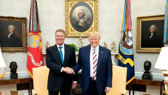 """Donald Trump, mesaj de Ziua Națională a României, """"un aliat neprețuit pentru SUA, cât și pentru NATO"""""""