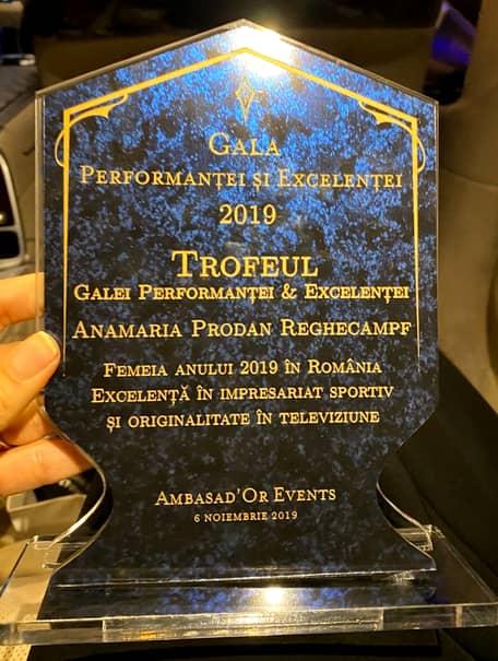Anamaria Prodan, rochie de 10.000 de euro la Gala Performanței și Excelenței. FOTO cu ținuta fabuloasă