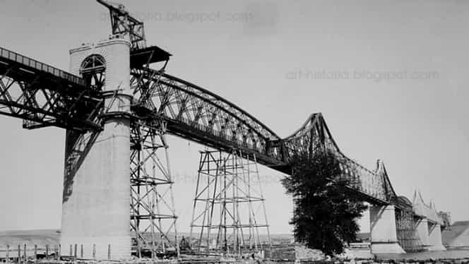 14 septembrie, semnificaţii istorice! Anghel Saligny inaugura podul de la Feteşti