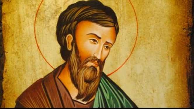 Calendar ortodox sâmbătă, 16 noiembrie. Este prăznuit Sfântul Matei, protectorul Gărzii Financiare