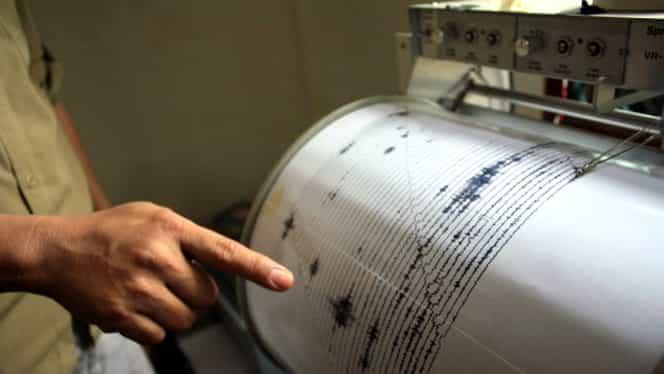 Două cutremure în judeţul Buzău, în doar trei ore! Cel mai puternic a avut 3,4 pe Richter
