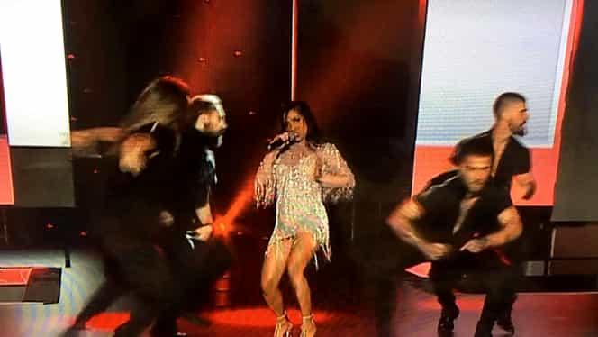 Bella Santiago, apariţie spectaculoasă la Eurovision 2019. Câştigătoarea de la X Factor a uimit fanii