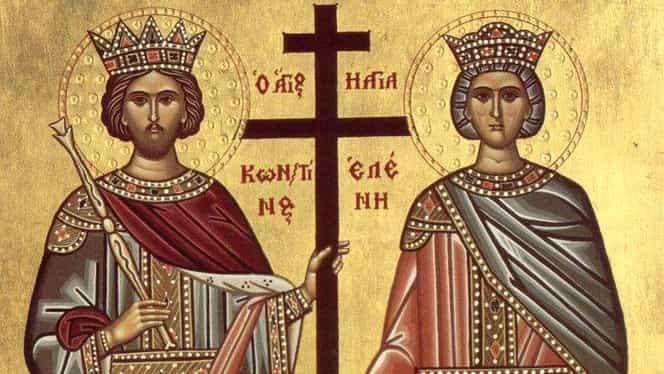 Felicitări şi mesaje de Sfinţii Contantin şi Elena, prăznuiți pe data de 21 mai