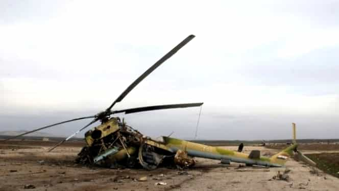 Elicopter militar prăbușit în Rusia! Piloții au murit pe loc