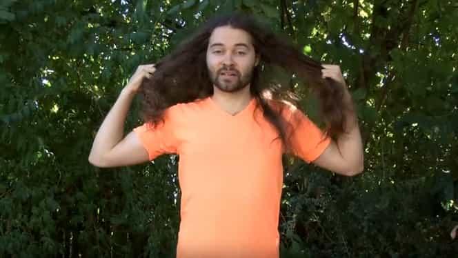 Nu s-a mai tuns de ani de zile. De ce a refuzat bărbatul să mai meargă la frizer! GALERIE FOTO