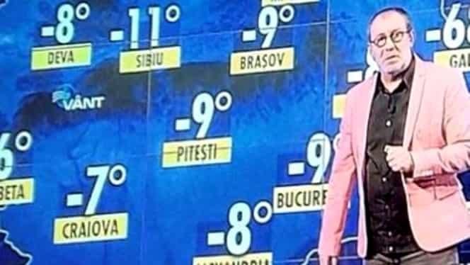 Gafă colosală! Ce a apărut pe ecran, în timp ce Busu prezenta Meteo! E caz unic în România