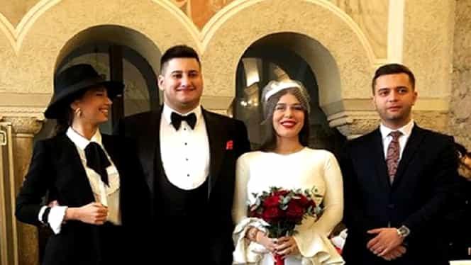 Fiul lui Gabriel Oprea s-a căsătorit cu Davida. Băiatul fostului ministru al Apărării s-a iubit în trecut cu Daniela Crudu