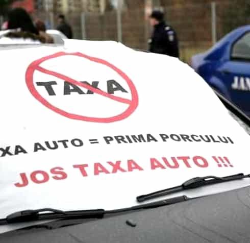 Taxa auto. România, somată de la Bruxelles să o returneze imediat