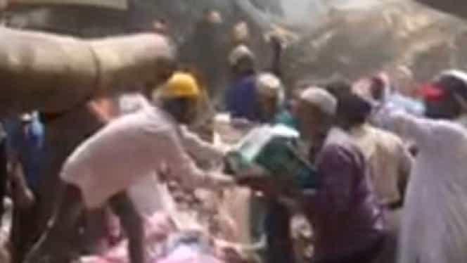 Bilanţul a crescut la 18 morţi şi 14 răniţi, după prăbuşirea unei clădiri din India