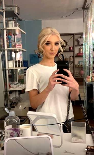 Alexandra Becali este fiica mijlocie a lui Becali